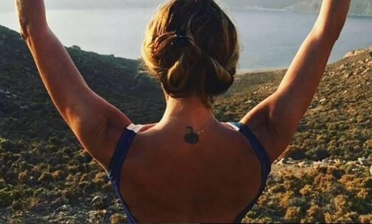 Τζένη Μπαλατσινού: Συνεχίζει τις διακοπές της στην Πάτμο και μας δείχνει τις ομορφιές του νησιού!