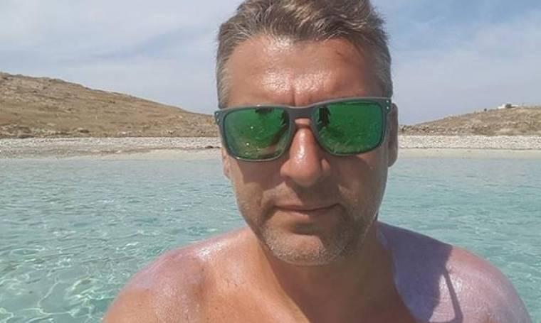 Γιώργος Λιάγκας: Η selfie στην παραλία με τον Ραμαζότι και τον Ρέμο