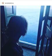 Tζένη Μπαλατσινού: Η νέα φωτό από τις διακοπές της στην Πάτμο, που ζηλέψαμε!