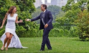 Εύα Αντωνοπούλου - Παναγιώτης Αρκουμανέας: Επέτειος γάμου για το ζευγάρι