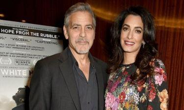 Clooney-Alamudin: Βοηθάνε 3000 προσφυγόπουλα από την Συρία να πάνε σχολείο