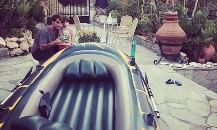 Στέλιος Χανταμπάκης: Το πρώτο βίντεο με τον γιο του στο Instagram μετά το survivor