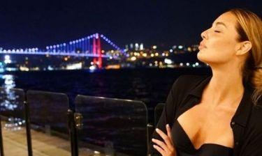 Αντωνία Καλλιμούκου: Διακοπές στην Κωνσταντινούπολη (φωτό)