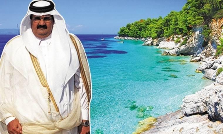 Ο εμίρης του Κατάρ θέλει να επενδύσει στην Σκόπελο
