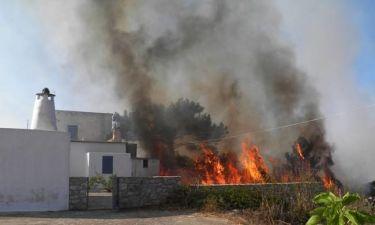 Φωτιά ΤΩΡΑ: Δραματικές ώρες στα Κύθηρα - «Σώστε μας, καιγόμαστε» φωνάζουν οι κάτοικοι