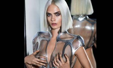 Cara Delevingne: Γυμνή & εξωγήινη τόλμη στο GQ