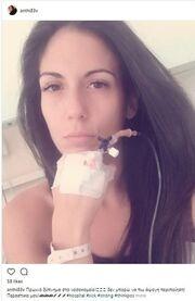 Παραμένει στο νοσοκομείο η παρουσιάστρια του Epsilon