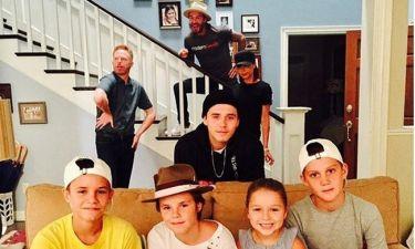 Οι Beckham αναστατώνουν την σειρά «Modern Family»