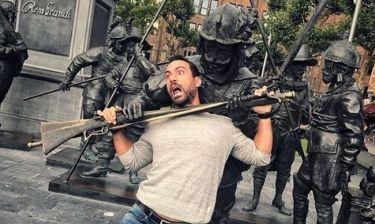 Σάκης Τανιμανίδης: Η πιο αστεία του φωτό από το ταξίδι του στο Άμστερνταμ!