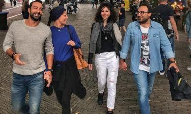 Σάκης Τανιμανίδης: Διακοπές στο Άμστερνταμ με τον αδελφό του