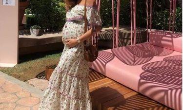 Η νέα φωτογραφία της με φουσκωμένη κοιλίτσα της στον έκτο μήνα!