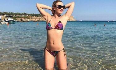 Χριστίνα Αλούπη: Η πίσω όψη της είναι... χάρμα οφθαλμών!