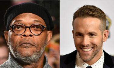 Ryan Reynolds: «Η χηµεία µας με τον Samuel Jackson ήταν ακαταµάχητη, µπορώ να πω, στην ταινία»