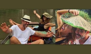 Ιωσήφ Μαρινάκης - Χρύσα Καλπάκη: Οι διακοπές τους στο Βιετνάμ!