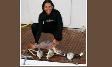 Άλκηστις Πρωτοψάλτη: Εδώ τα καλά ψάρια (φωτό)