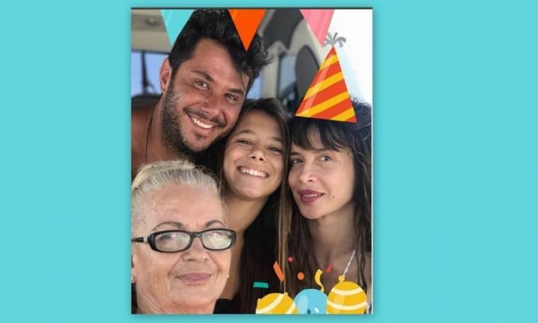 Πάολα – Φώτης Ζογλοπίτης: Η τρυφερή οικογενειακή φωτογραφία και το μήνυμά του