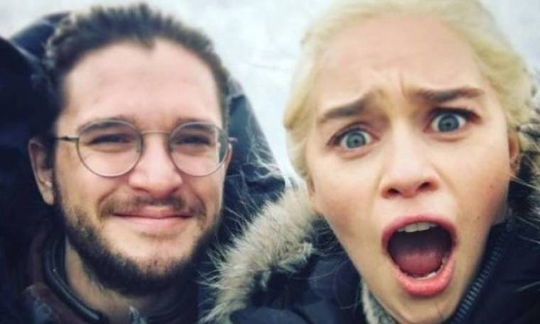 Game of Thrones: O Τζον Σνόου μιμείται τον δράκο στο Instagram της Ντενέρις (vid)