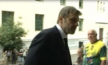 Κηδεία Ζωής Λάσκαρη: Ράκος ο Απόστολος Γκλέτσος