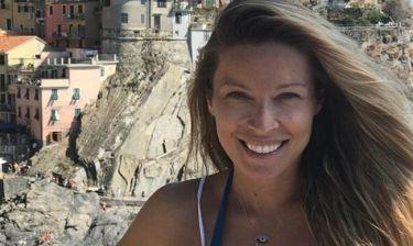 Η εγκυμονούσα Χρουσάλα κάνει διακοπές στην Ιταλία