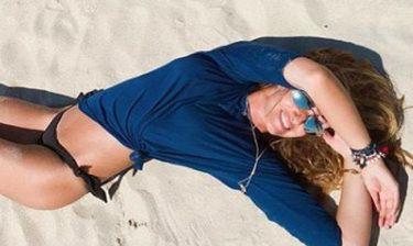 Η topless φωτογραφία της Κουλιανού που «έριξε» το Instagram