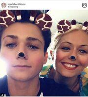 Μαρία Μπακοδήμου: Η selfie με το γιο της, Νικήτα