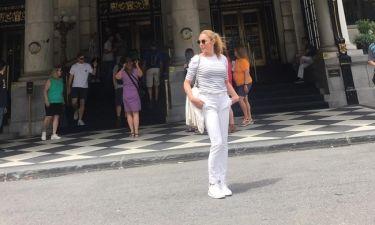 Τατιάνα Στεφανίδου: Φωτογραφίζει την κόρη της, Λύδια στη Νέα Υόρκη