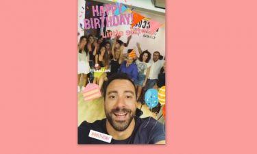 Γενέθλια για την αδερφή του Σάκη Τανιμανίδη: Το πάρτι - έκπληξη που της ετοίμασε!