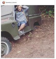 Χρήστος Φερεντίνος: Κόλλησε το αυτοκίνητο στην λάσπη και…