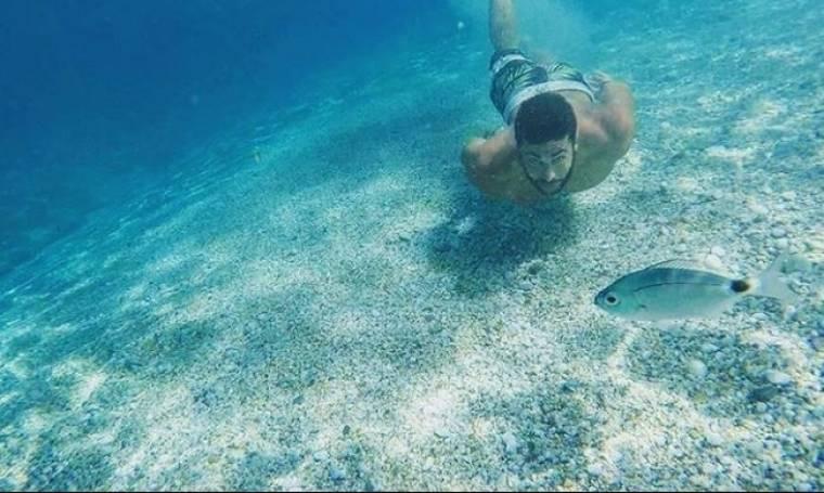 Οι υποβρύχιες βουτιές του Κωνσταντίνου Βασάλου