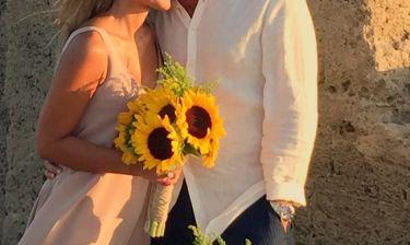 Γνωστός Έλληνας παντρεύτηκε στην Εύβοια - Oι πρώτες εικόνες από το γάμο του