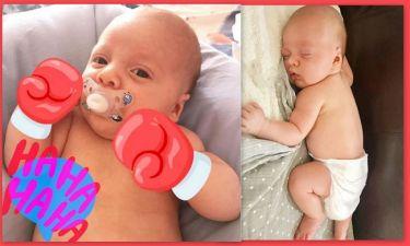 Θα λιώσετε! Οι νέες φωτό του μόλις 2,5 μηνών γιου γνωστής Ελληνίδας που έχει instagram!