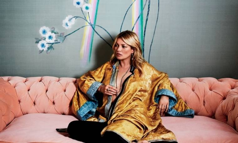 Kate Moss: Σχεδιάζει και… ταπετσαρίες