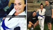 Δεν θα πιστεύετε ποια πασίγνωστη τραγουδίστρια έχει μπλε ζώνη στο Brazilian Jiu-Jitsu