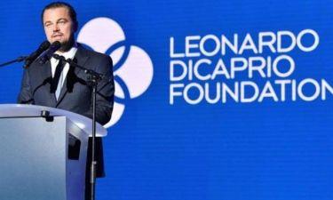 Το ίδρυμα DiCaprio δώρησε 1 εκατ. δολάρια για τους πληγέντες από τον τυφώνα του Χάρβεϊ