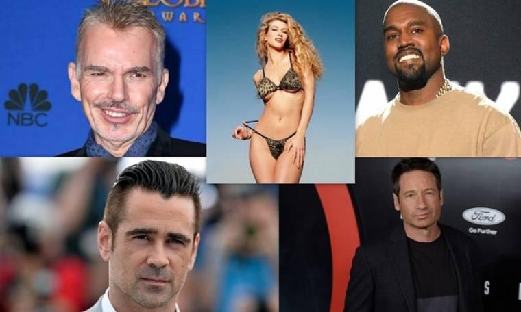 Διάσημοι που παραδέχθηκαν τον εθισμό τους στο σεξ