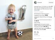 Marcus Berg: Ο γιος του έγινε 1 έτους