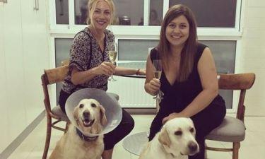 Σμαράγδα Καρύδη - Μαριέλλα Σαββίδου: Η συνάντηση με τα σκυλιά τους