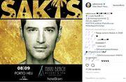 Σάκης Ρουβάς: Έτοιμος για την εμφάνισή του στο Πόρτο Χέλι