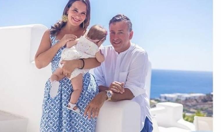 Ελιάνα Χρυσικοπούλου: Η πρώτη οικογενειακή φωτογραφία από την βάφτιση της κόρης της