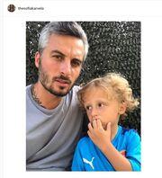Σοφία Καρβέλα: Η φωτογραφία στο Instagram με τους άντρες της