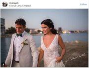 Hθοποιός παντρεύτηκε και δεν το πήρε είδηση κανείς - Η πρώτη φωτό από το γάμο της