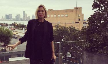 Βίκυ Καγιά: Οι πρώτες φωτογραφίες από το ταξίδι της στη Νέα Υόρκη με φουσκωμένη κοιλίτσα