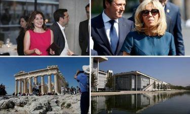 Στις δύο όψεις της Ελλάδας ξεναγεί την Μπριζίτ Μακρόν η Μπέττυ Μπαζιάνα