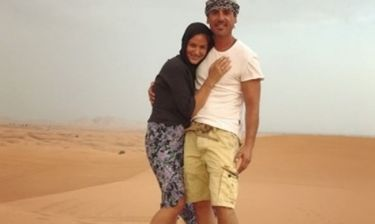 Δέσποινα Καμπούρη - Βαγγέλης Ταρασιάδης: Σαφάρι στο Ντουμπάι (φωτό)
