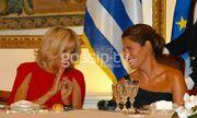 Το δείπνο στο Προεδρικό Μέγαρο προς τιμήν του ζεύγους Macron