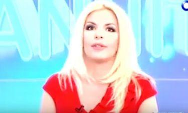 Αννίτα Πάνια: Με κατακόκκινο φόρεμα στην πρεμιέρα της εκπομπής της