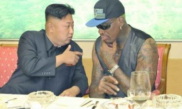 Δεν θα πιστεύετε το συνδέει τον Ντένις Ροντμαν με τον ηγέτη της Β. Κορέας
