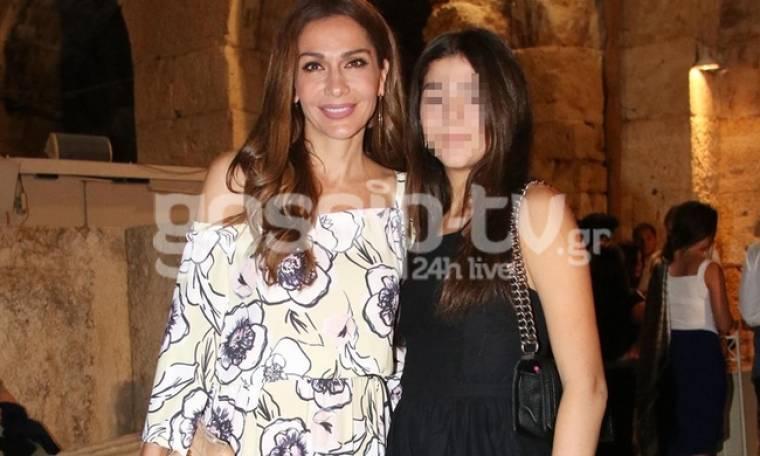 Δέσποινα Βανδή: Με την κόρη της στο Ηρώδειο