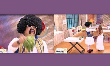Τρελό Γέλιο στην πρεμιέρα του Happy Day: Η «ευλογία» του Τσολιά και το χειροφίλημα της Τσιμτσιλή