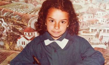 Η φωτό από τα παιδικά χρόνια γνωστής παρουσιάστριας